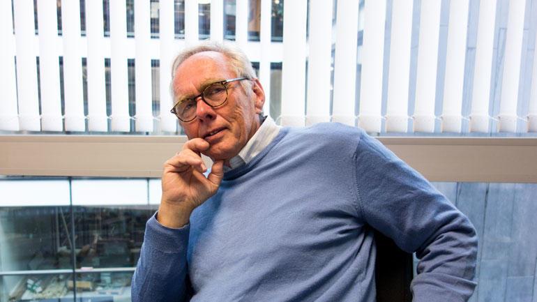 Rune Nilsen, styreleder ved HSN.  Foto