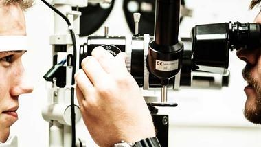 Videreutdanninger i optometri. Illustrasjonsfoto.