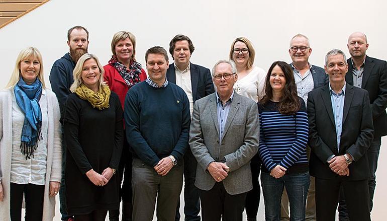 Medlemmer av høyskolestyret ved HSN. Foto.