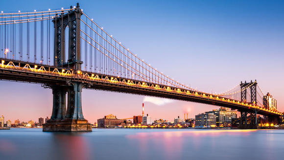 New York. Bridge. Photo.