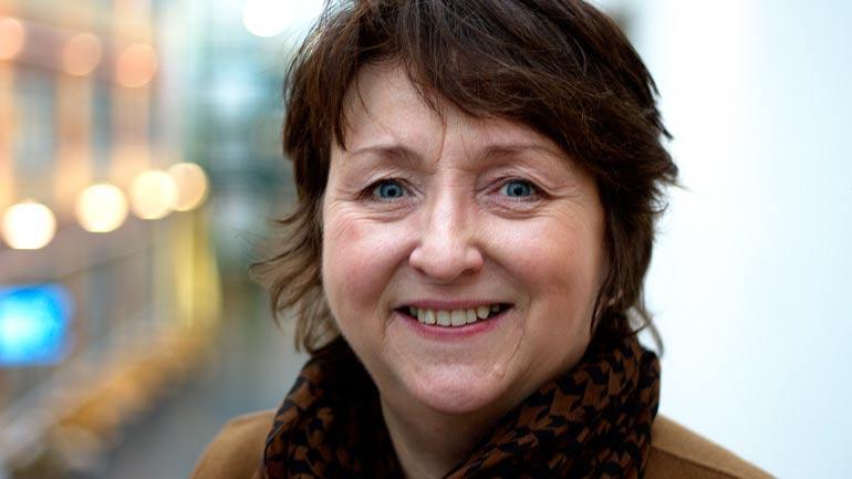Førstelektor Solveig Irene Nordtømme. Foto