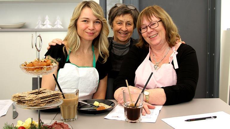 Pia Harritz Torchio, Karen Lassen og Marit Lundstad. Foto