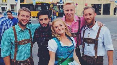 Malin Guntveit på utveklsing i Tyskland