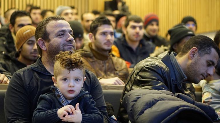 Refugees at HSN.