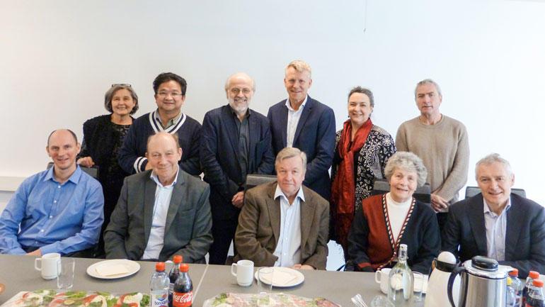 Representanter fra HSN og A. Wilhelmsen.  Foto