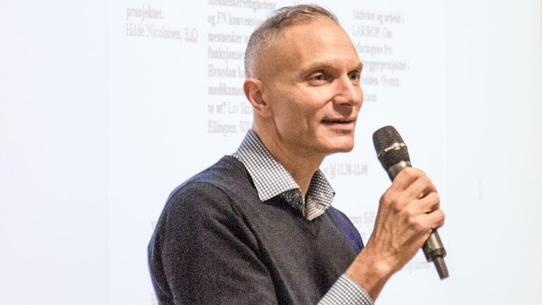 Professor Stian Biong. Arkivfoto: Knut Jul Meland, HSN.