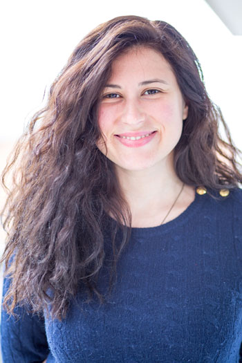 Sophia is a master student at our Joint International Master in Smart Systems Integration. Photo.