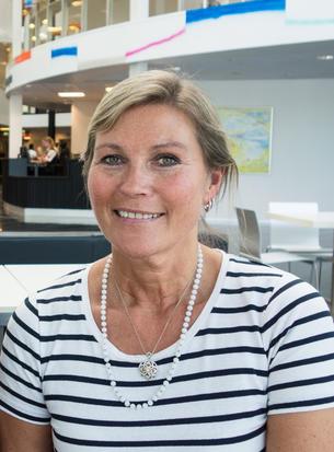 Ulla Pettersen.  Foto