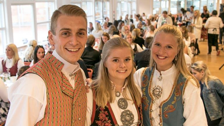 Avgangsstudenter fra lærerutdanningen. Foto