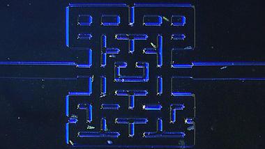 Mikroskopic Pac-Man, Photo