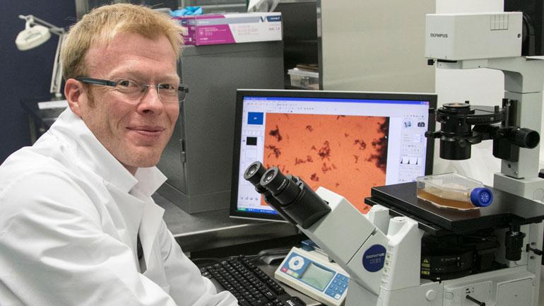Professor Erik Andrew Johannessen.  Photo: Knut Jul Meland