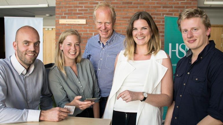 Frode Rogstad, Birte Jelsa, Jan Erik Bjerkholt, Maria Blad Måøy og Martin Pyk Pettersen. Foto