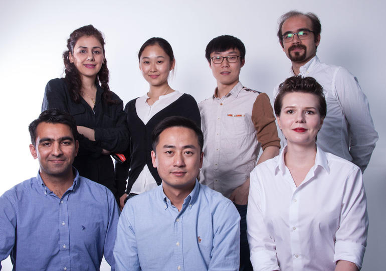 From top left: Afra, Chen, Daoyan, Eisa, Ajmal, Ruohao and Iryna