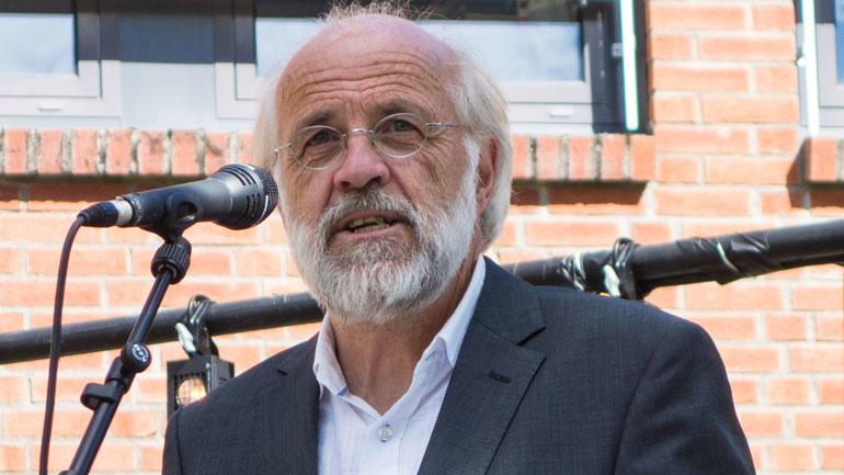 Rektor Petter Aasen.  Foto