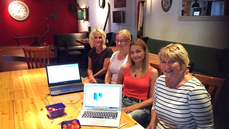 Deltakere på Workshop i Notodden. Foto