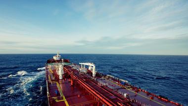 Tanker. Photo.