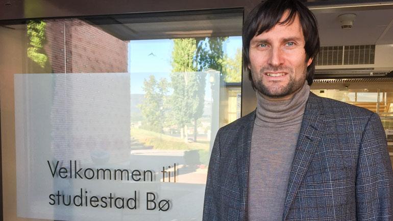 Førsteamanuensis Per Strömberg - foto