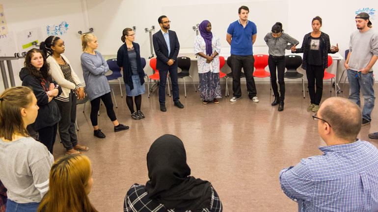 ITEPTS-studenter og lærere i gruppe. Foto