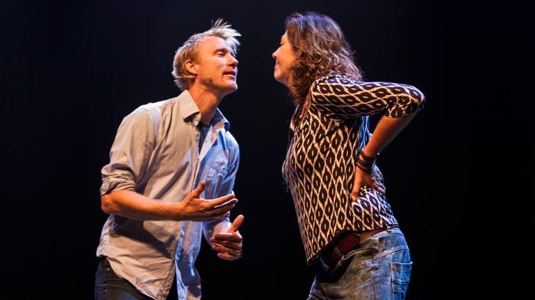 Torbjørn Harr og Helen Vikstvedt. Foto
