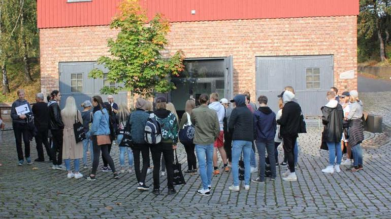 Høgskolelektor Anita Wiklund Norli jobber for tiden med en doktorgrad om livet i Hammerdalen. Hun fortalte om liver og kulturmøter i Hammerdalen på 1700-tallet.