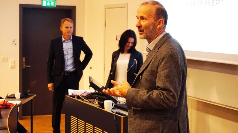 – Studien til Berge og Wegger bør få betydning for hvordan operatører ved nødsentraler trene, sier førsteamanuensis Leif Inge Magnussen.  Foto