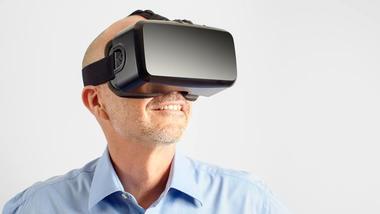 VR-briller. Foto