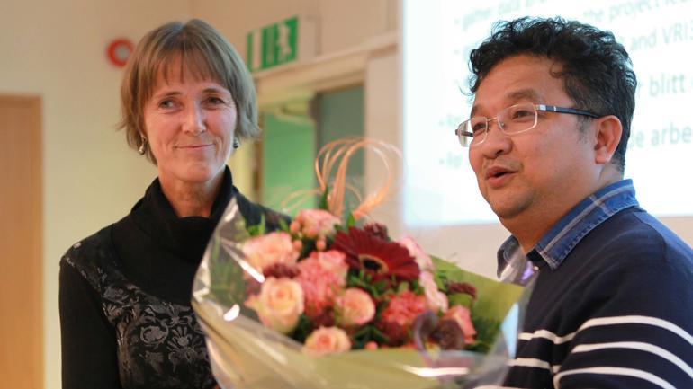 Anne Haugen Gausdal gratuleres med opprykk til professor.