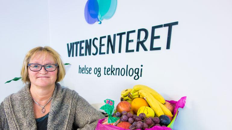 Professor Hilde M. Olerud.   Foto