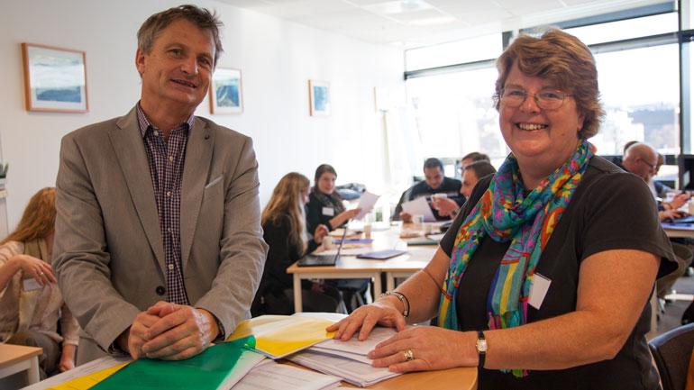 Pål Augestad og Anne Lee. Foto
