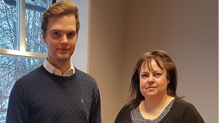 Bilde av Kristian Wåla Dahl og Ann Kristin Ødegård