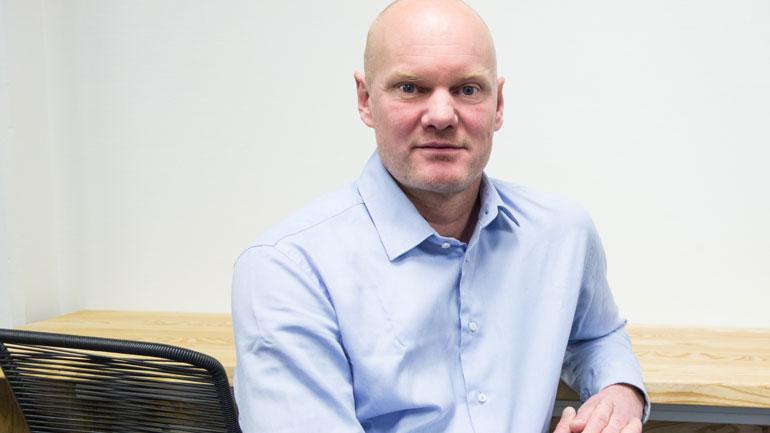 Studiekoordinator for industriell økonomi, Eskil Goldeng. Foto