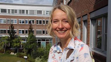 Førsteamanuensis Kristin Falk ved Høgskolen i Sørøst-Norge på Kongsberg. Foto: NCE SE/Per Skøien
