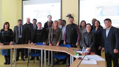 Prosjektgruppen NanoEl samlet. Foto.