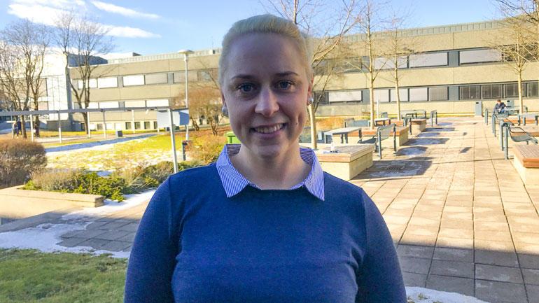 Anette Hansen - ingeniørstudent. Foto