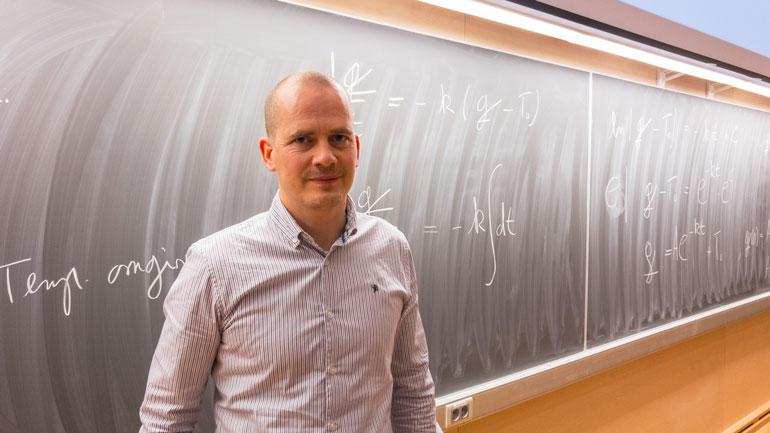 Professor Marius Lysaker - foto