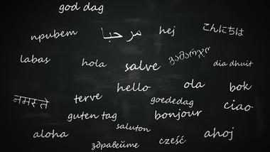 Multikulturalisme - ord på tavle.  iStockphoto/3dmentat