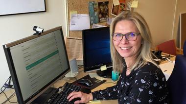 Studieveileder Kristin Midtbø. Foto.