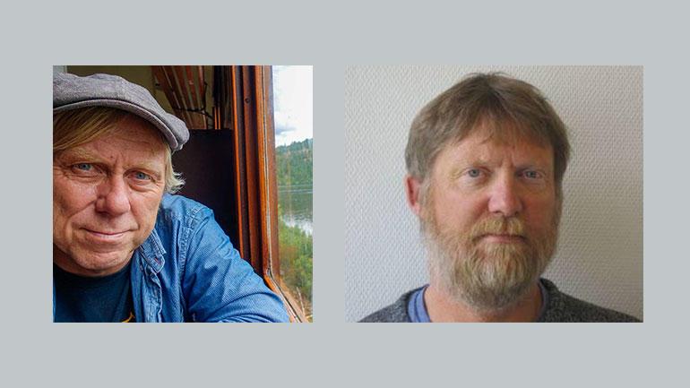 Leiv Solberg og Per Åsmund Omholt. Foto