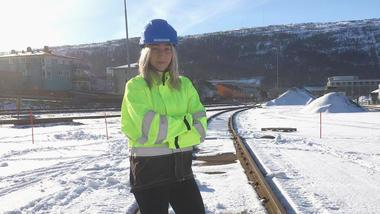 Astri Maren Midtgarden jobber som ingeniør i BaneNOR etter å ha studert Y-veien