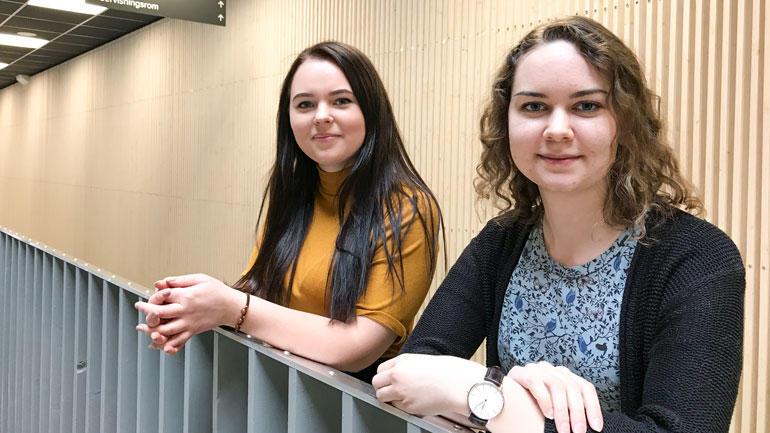 Sara Dolva og Maren Søberg. Foto