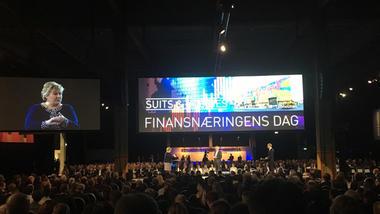 Erna Solberg på Finansnæringens dag