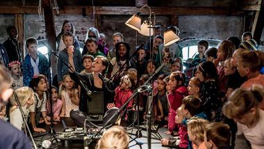 Skolekonserten Inni varmen. Foto: Lars Opstad/Kulturtanken