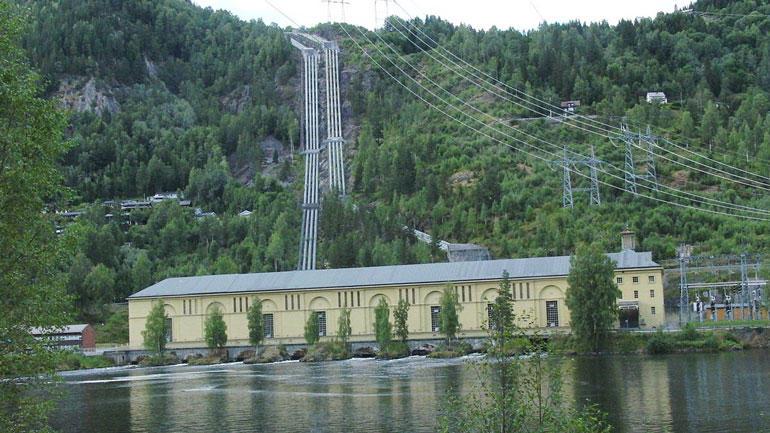 Nore I kraftverk i Numedal. Wikimedia Commons/Statkraft