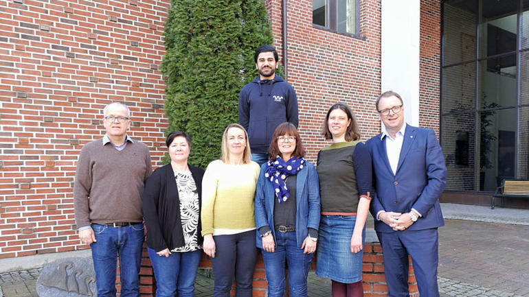Bilde av arbeidsgruppa som jobber med studentmeldingen