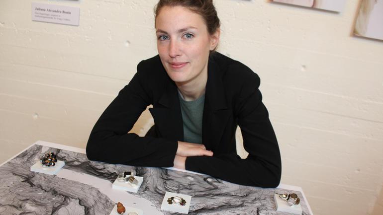 Bachelorstudent Juliana Alexandra Bonin.