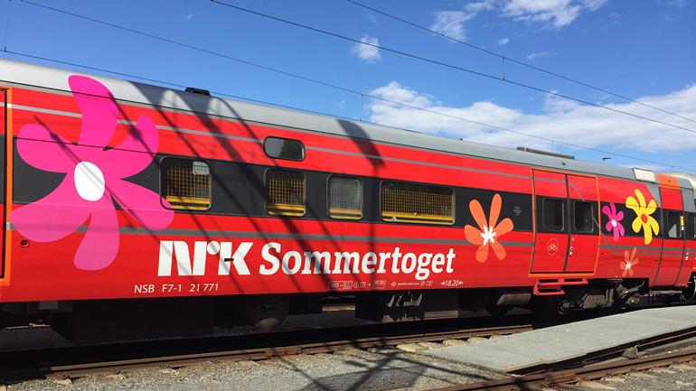 NRKs Sommertoget. foto