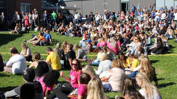 Åpning av studieåret 2016 ved campus Porsgrunn.