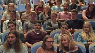 Bildet ab deltakere studieteknikk-kurs