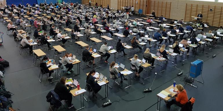 Digital eksamen på Campus Bakkenteigen