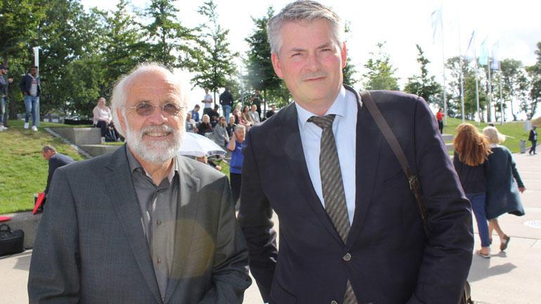 Petter Aasen og Bjørn Haugstad. Foto